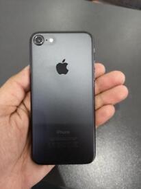 iPhone 7 128GB UNLOCKED JET BLACK