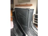 Ladies Hein Gericke motorcycle boots size 6 vgc hardly worn no scuffs