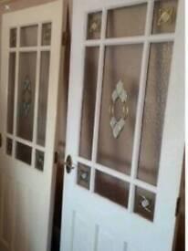 Interior glazed door reduced