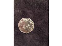 Rare Benjamin bunny 50p