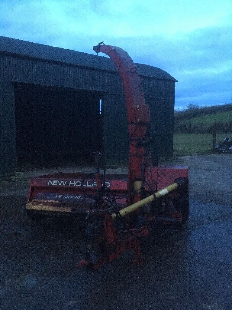 New holland double chop