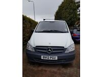 MERCEDEZ-BENZ-VITO 2012 PANEL VAN, ONE OWNER, VERY TIDY, MOT TILL FEB 2019, JUST 64000 MILEAGE