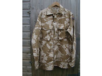 British Army Issue Desert Pattern COMBAT SHIRT - Size 200/104 -dg Extra-Long Large