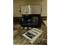 KRUPPS ESPRESSO XP2000 COFFEE MACHINE FOR SALE FOR FILTER ESPRESSO OR LATTES .