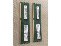 SPECTEK 1333MHz RAM - 2x4GB