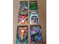 dc villains comic books