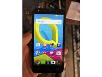 ALCATEL U5 4G Quadcore HD Android smartphone on VIRGIN MOBILE