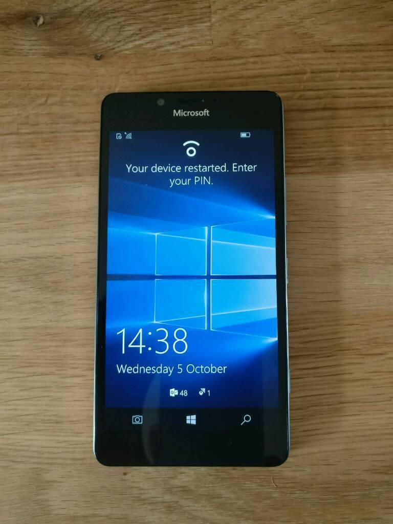 Microsoft Lumia 950 Boxed With Display Dockin Broughton, CheshireGumtree - Microsoft Lumia 950 BoxedMicrosoft Display Dock Unboxed (rrp £79.99)Mozo Genuine Leather Case (rrp £29.99)Only used a handful of times. Less than 2 months old.LIKE NEW!