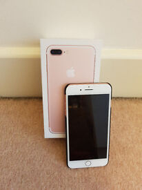 For Sale - Apple iPhone 7 Plus Rose Gold 32GB