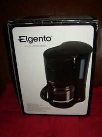 Elgento E13004 12 Cup Coffee Maker Black as New