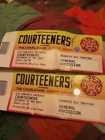 2 tickets for sold out Courteeners show in Manchester