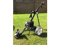 Powerkaddy electric trolly very good condition new battery and wheeles