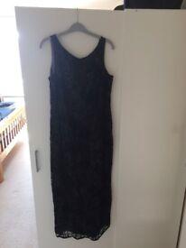 Next Black Cocktail Dress Size 12