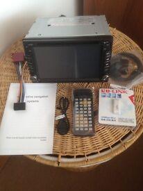 New radio with sat nav