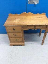 Small pine writing desk