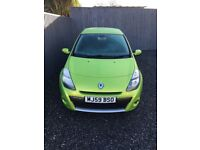 Renault Clio 1.2 Petrol Tom Tom limited Edition in rare apple green