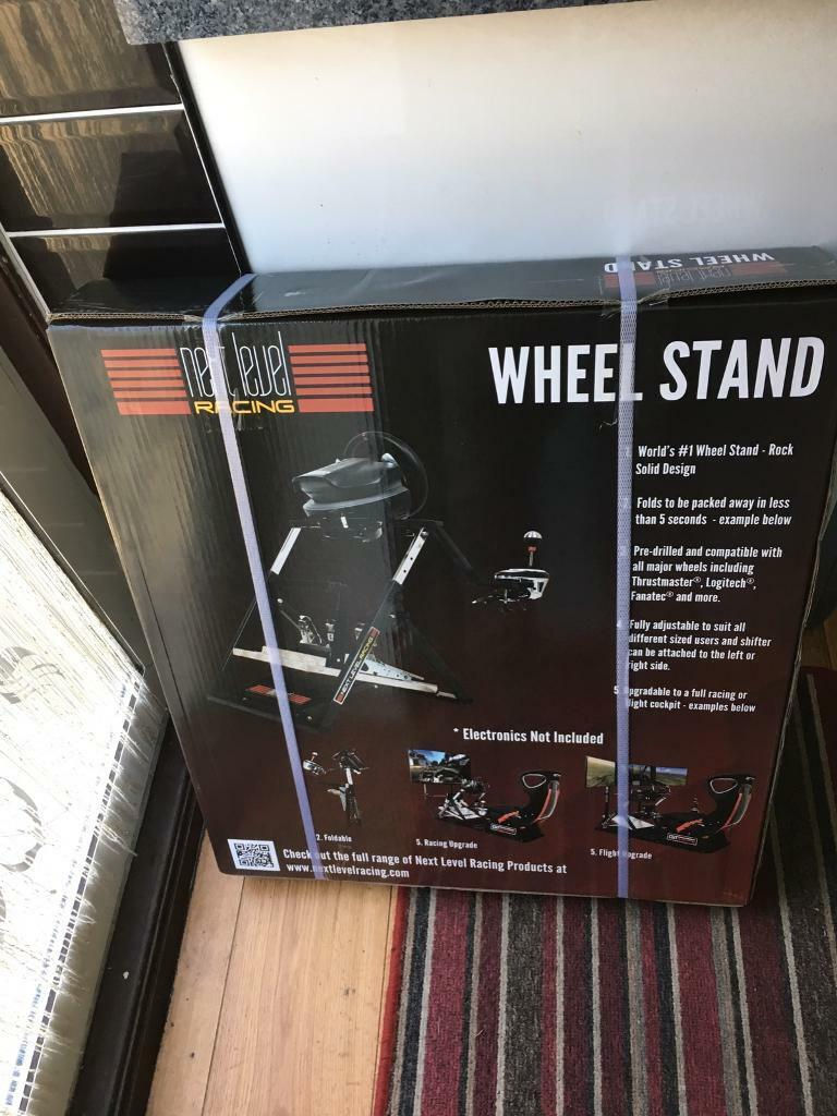 Next level racing wheel and pedals sim racing stand  | in