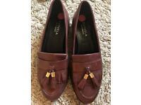 Kurt Geiger Brown loafers