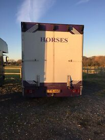 7.5 ton horse box