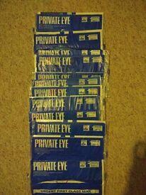 """""""Private Eye"""" Magazine - 12 Brand New Sealed Magazines"""