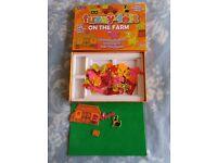 John Adams Fuzzy-Felt On The Farm 100+ pieces 3-6 years