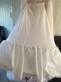 Girls small prom dress