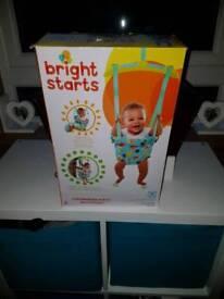 Bright Starts Kaleidoscope Safari Baby Door Jumper