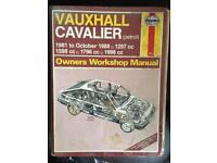 Vauxhall cavalier car manual