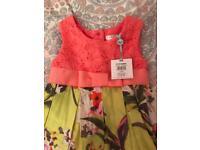NEW 9-12month dress