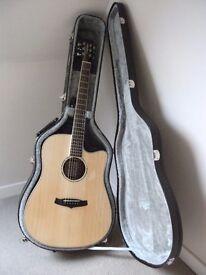 Tanglewood TPE DC DLX Premier Range Electro Acoustic Guitar.