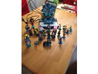 Lego Dimensions Xbox 360 game and figures