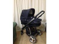 Bebecar ip-op pushchair with accessories £200