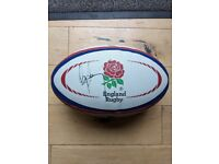 OFFICIAL GILBERT ENGLAND rugby ball size 5 - SIGNED by UGO MONYE