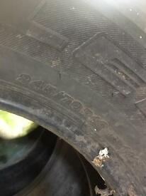 245/70/16 tyres