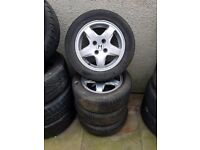 Honda Accord Civic 15'' Alloy Wheels Excellent Tyres Can Post Part Exchange Welcome