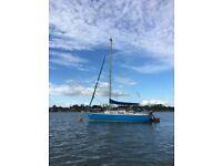 Jaguar 22 lifting keel Sailing Yacht