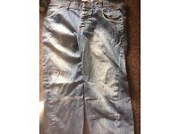 Top shop twister jeans 33 R