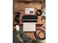 Wifi hub & fibre box