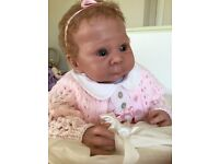 Reborn baby doll Lizzy limited edition reduced for quick sale