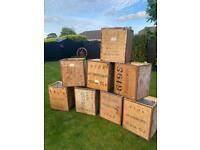 Vintage tea chests