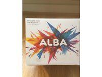 ALBA DAB RADIO BRAND NEW BLUETOOTH SMALL