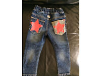 JEANS FOR BOY LIKE NEW FROM 1.5 - 3 YEARS, NEXT