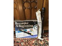 Recorder and beginners book + CD