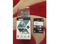 Action camera and memory card