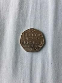 Dictionary Fifty Pence