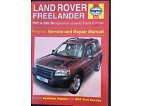 Haynes LandRover manual