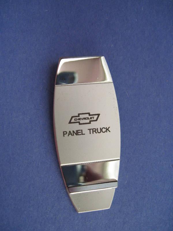 CHEVY  PANEL TRUCK       -  money clip