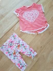 O-3 months Baby girls set