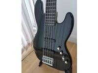 Fender Squier Deluxe Jazz Bass V Active (5 String - ebonol fingerboard)