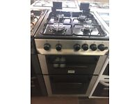 50CM STAINLESS STEEL ZANUSSI GAS COOKER